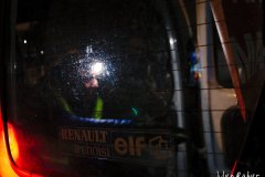 Traçage ligne bleue Marathon de La Rochelle 2019
