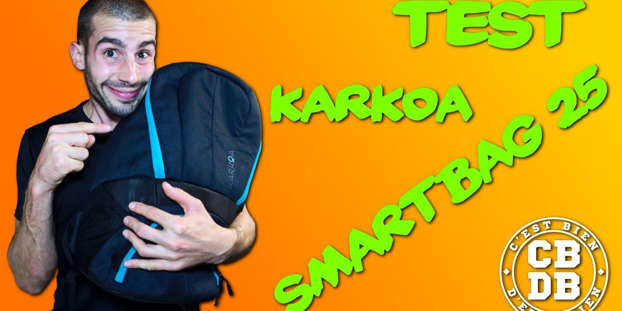 Test sac à dos Smartbag 25 de Karkoa