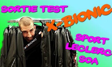 Sortie test vêtements X-BIONIC