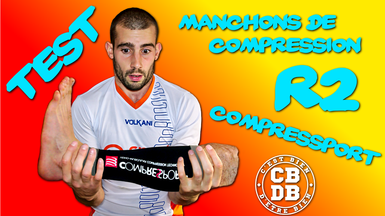 Test manchons de compression R2 de Compressport