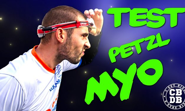 Test lampe frontale Myo de Petzl