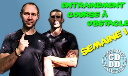 Entrainement spécial Course à obstacles – Semaine 1