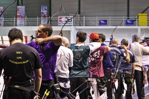 tournoi tir à l'arc bondy c'est bien d'être bien archery tournament