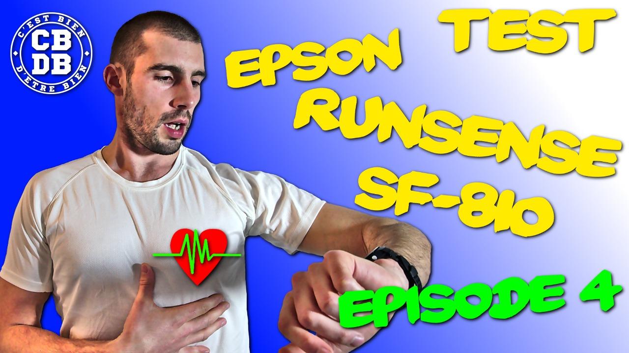 Episode 4 du test de la Runsense SF-810