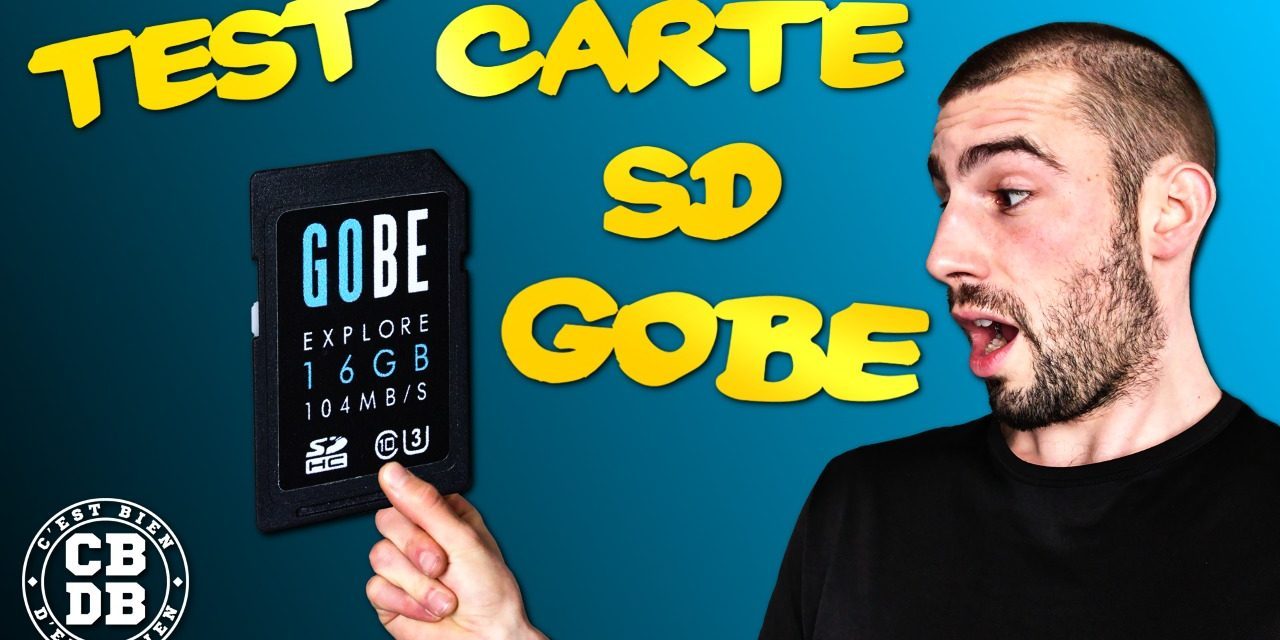 Test des cartes SD GOBE