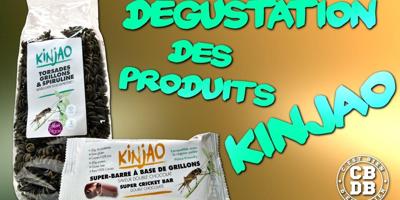 Dégustation de produits Kinjao