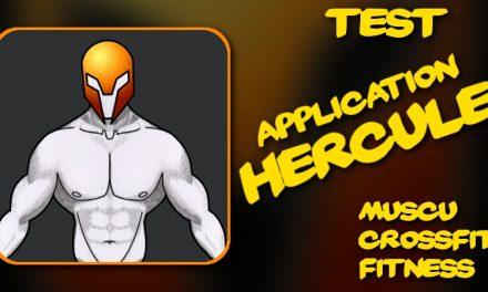 Test de l'application Hercule pour Android