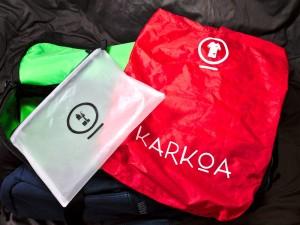 test sac sport karkoa tepee 45 c'est bien d'être bien cbdb