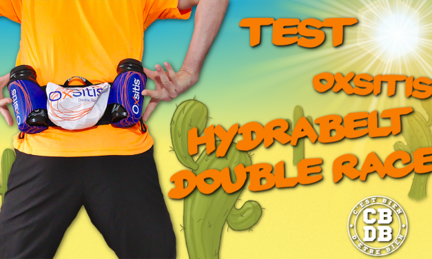 Test ceinture Hydrabelt Double Race de Oxsitis
