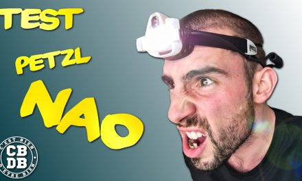 Test lampe frontale Nao 2 de Petzl