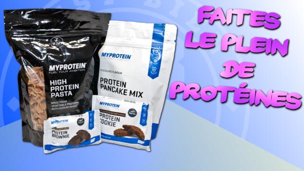 test produits nutrition protéines myprotein c'est bien d'être bien cbdb