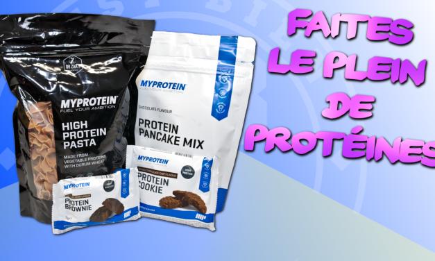 Faites le plein de protéines avec Myprotein