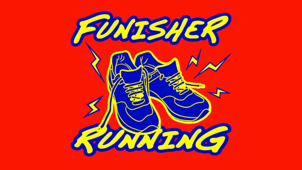 funisher running c'est bien d'être bien cbdb