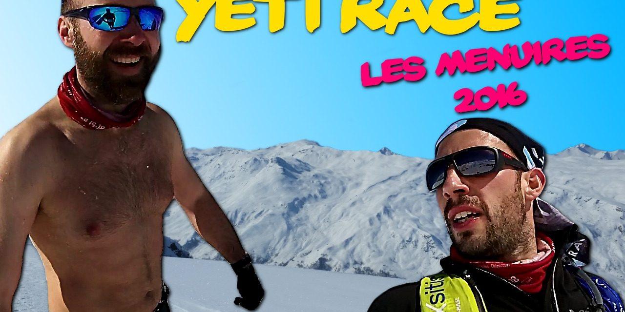 Yéti Race Les Ménuires 2016