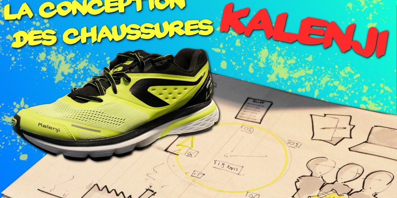 La conception des chaussures Kalenji