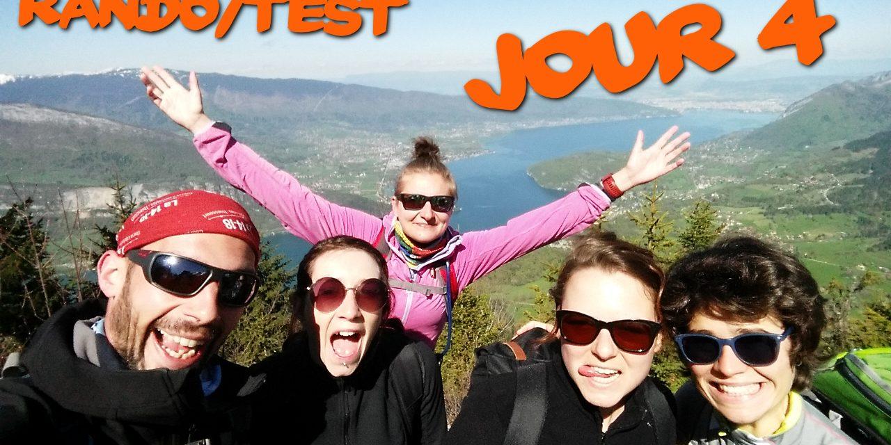 Rando/Test Annecy – Jour 4 et retour