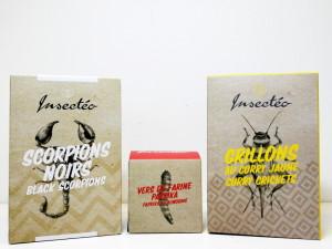 insecteo insectes comestibles scorpions c'est bien d'être bien cbdb