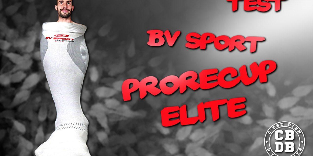 Test chaussettes ProRecup Elite de BV Sport
