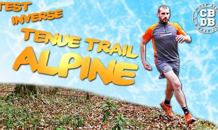 Test tenue trail ALPINE de Inverse