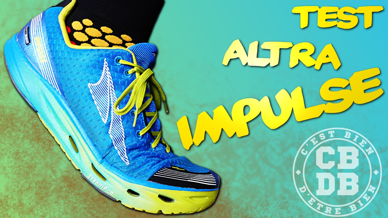 Test chaussures running Altra Impulse