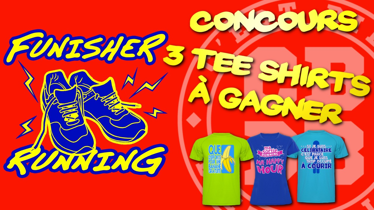 Concours – 3 Tee Shirts Funisher à gagner