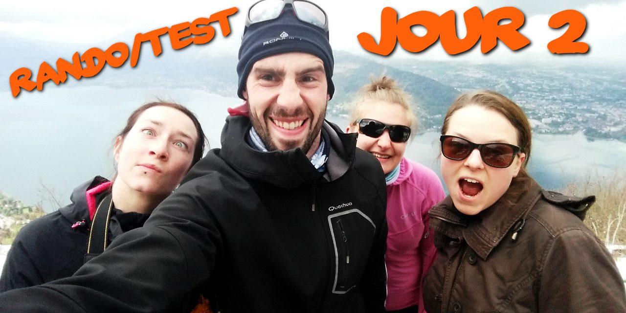 Rando/Test Annecy – Jour 2