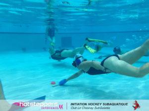découverte hockey subaquatique c'est bien d'être bien cbdb