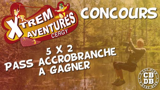 concours xtrem aventures cergy c'est bien d'être bien cbdb