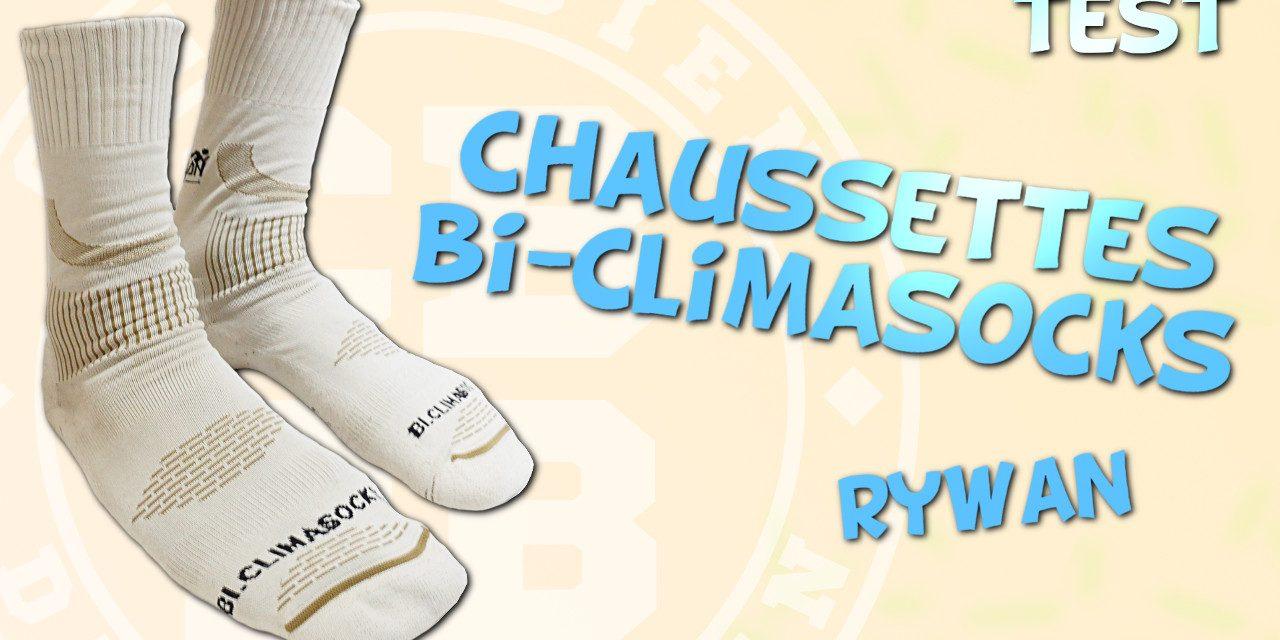 Test chaussettes Bi-Climasocks de Rywan