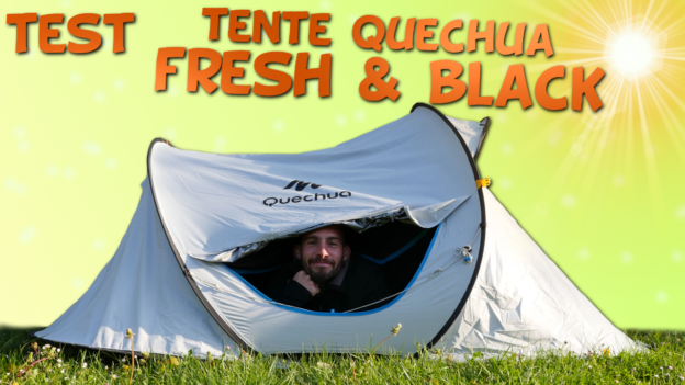 test tente quechua fresh black 2 seconds c'est bien d'être bien cbdb