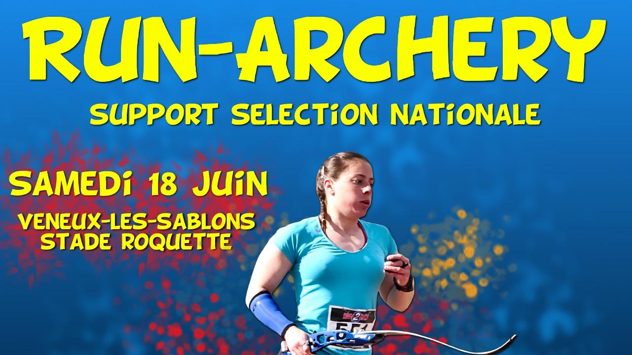 Sélection nationale de Run-Archery le 18 Juin