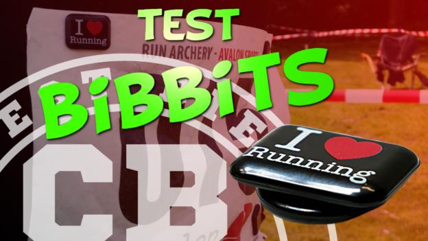 test bibbits accroche dossard magnétique c'est bien d'être bien cbdb