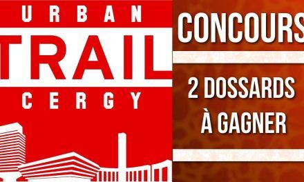 2 dossards à gagner pour l'Urban Trail de Cergy