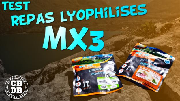 test repas lyophilisés mx3 c'est bien d'être bien cbdb