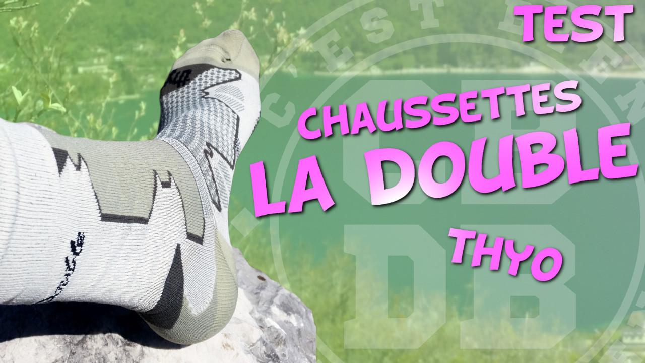 Test chaussettes La Double de Thyo