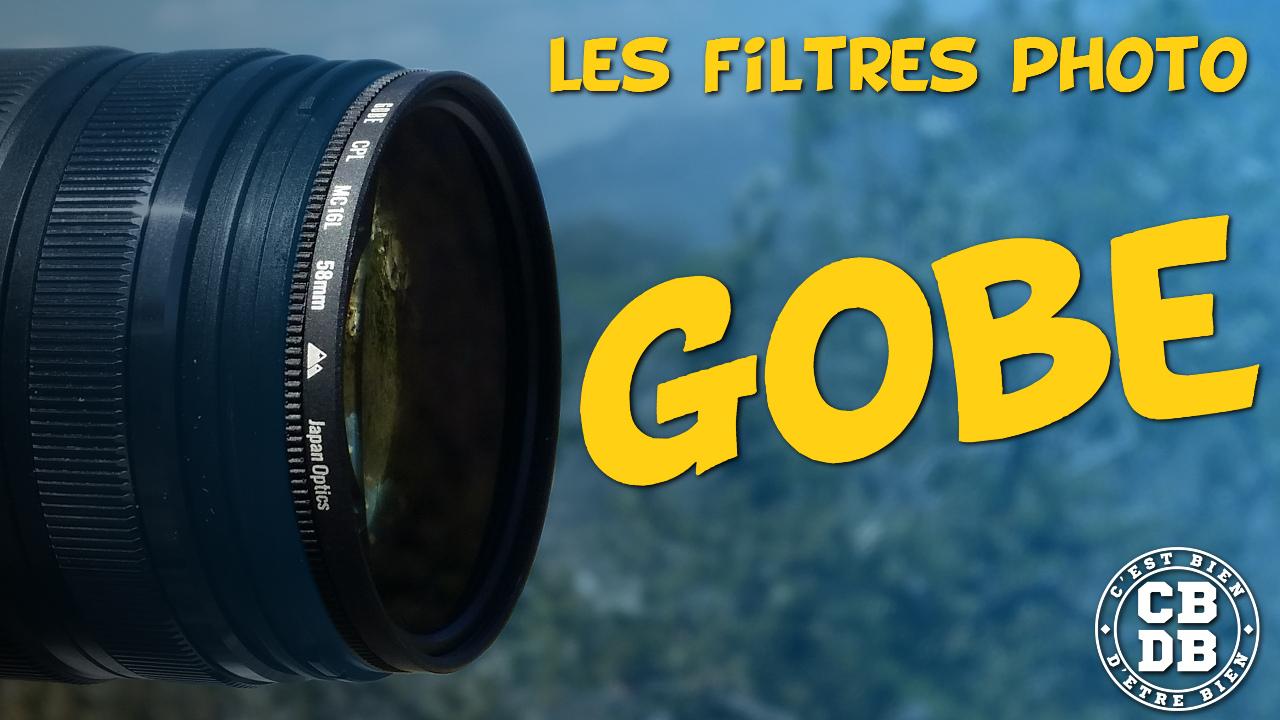 Les filtres photo GOBE