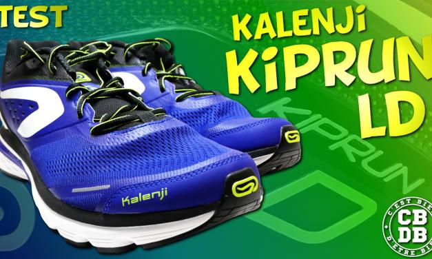 Test chaussures running Kalenji Kiprun LD