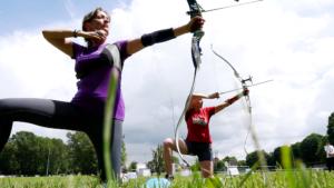 run archery decouverte c'est bien d'être bien cbdb