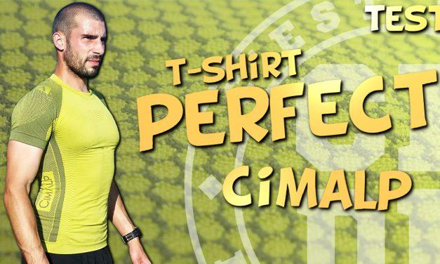 Test T-shirt de trail Perfect de Cimalp