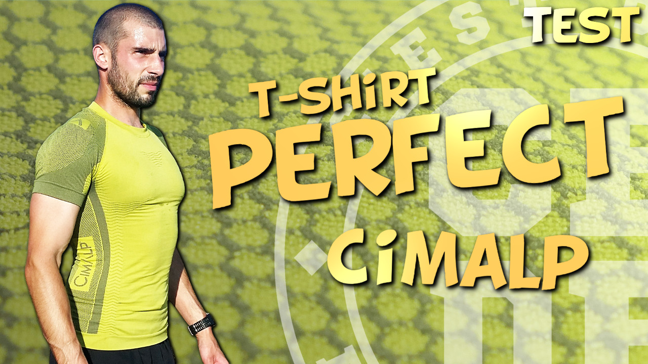 Test T-shirt de trail Perfect de Cimalp