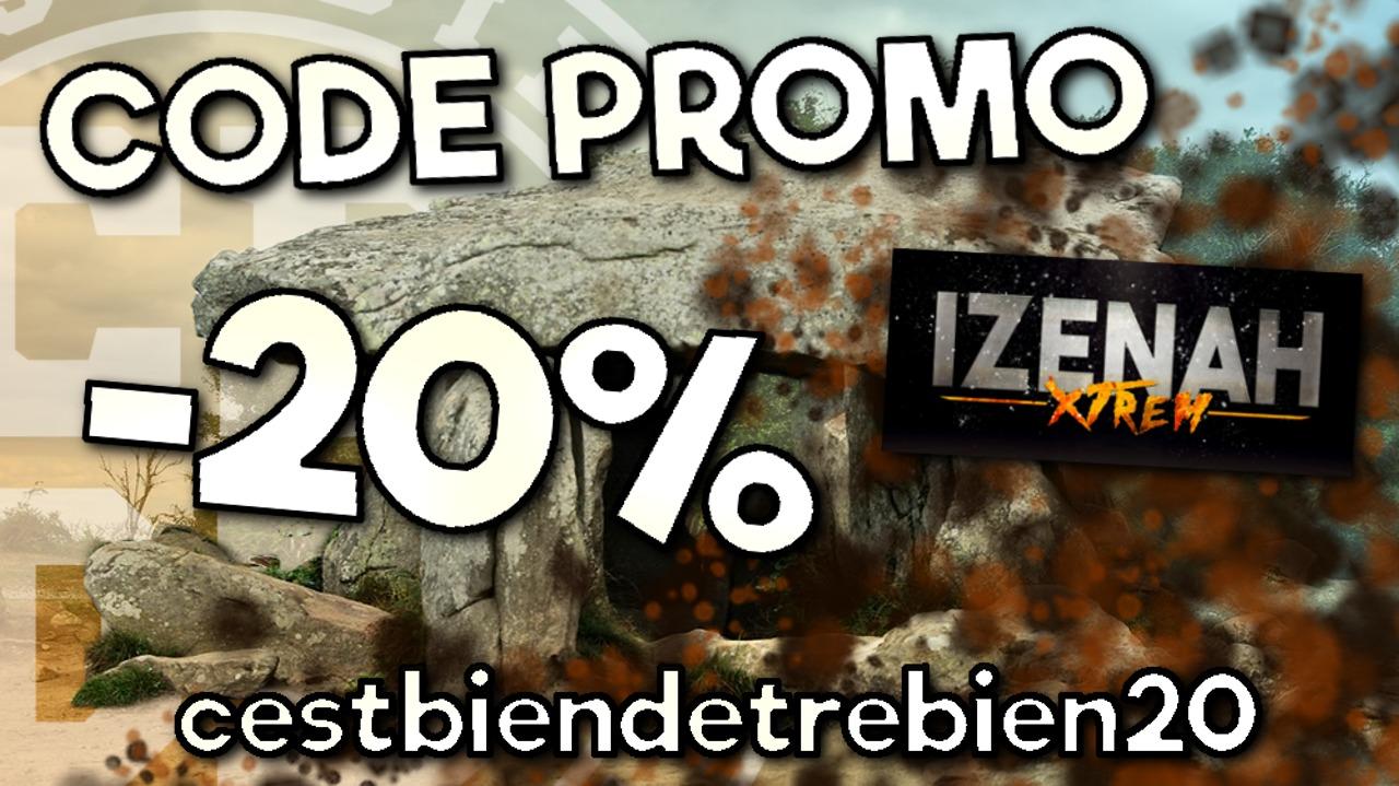 20% de réduction sur votre inscription à la Izenah Xtrem