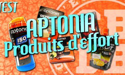 Test produits «pendant l'effort» Aptonia