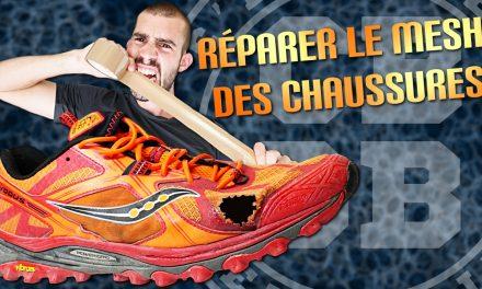 Comment réparer ses chaussures de running et trail ?