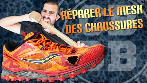réparation chaussures running trail seam grip c'est bien d'être bien cbdb