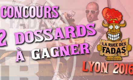 Gagnez votre dossard pour La Ruée des Fadas de Lyon