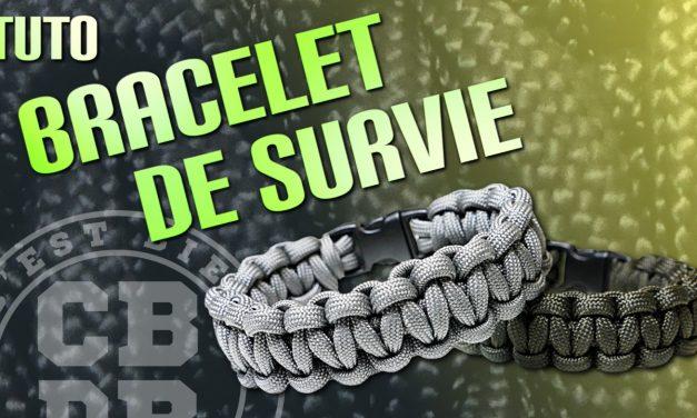 Fabriquer un bracelet de survie