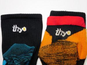 test chaussettes thyo pody air run trail c'est bien d'être bien cbdb