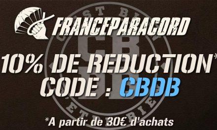 10% de réduction chez FranceParacord