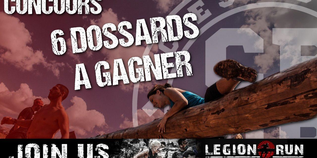 6 dossards à gagner pour la Legion Run Paris