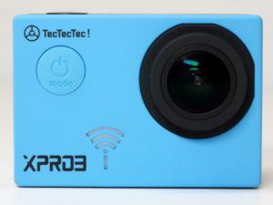 test tectectec xpro3 gopro actioncam caméra c'est bien d'être bien cbdb